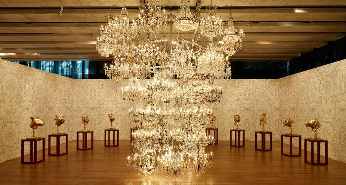 Le goût pour le clinquant poussé à son paroxysme par Ai Weiwei (©Mucem)
