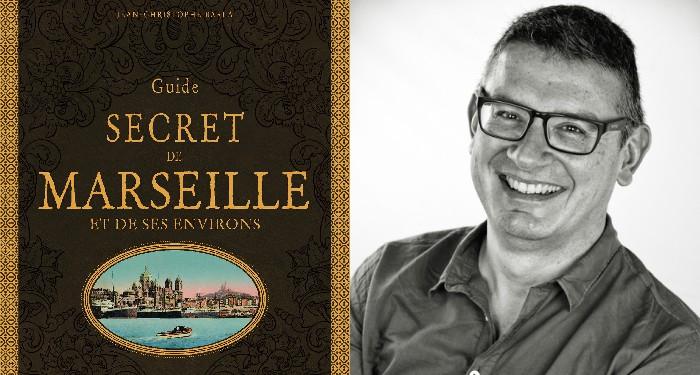 Jean-Christophe Barla, auteur de Marseille secrète (©Bruno Rédarès)