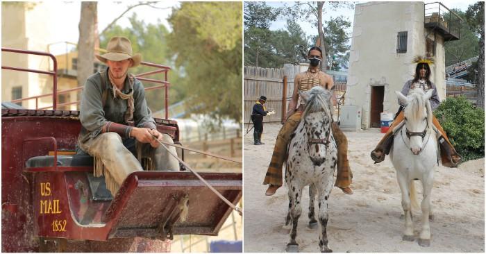 Des spectacles pour rencontrer les personnages du Far West