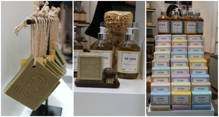 """Plus de 70 produits """"maison"""" et """"cosmétiques"""" en vente dans la boutique d'usine de la savonnerie marseillaise (©DV)"""