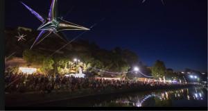 Gros succès lors du premier Jeudi Etoilé de la saison, le 19 juillet 2018 au bord de l'étang de l'Olivier (photo Ville d'Istres).
