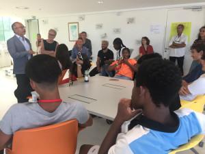 Lionel Royer-Perreault a discuté des apprentissages des Bivy Camps avec les adolescents