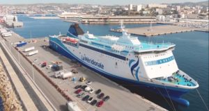 La Méridionale branche ses navires à quai avec du GNL à Ajaccio (Crédit DR)