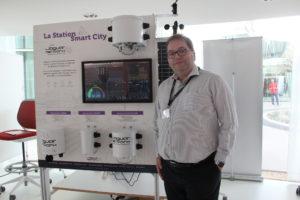 Jaguar Network présente sa nouvelle station SmartCity