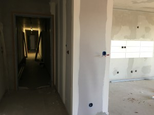 Appartements en travaux. 1/2 Photo : S.P.