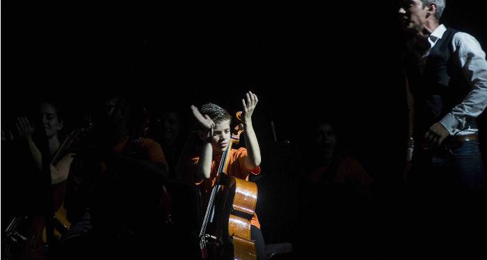A chacun son instrument, tous ensemble. (© Bertrand Gaudillère - Philharmonie de Paris)