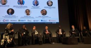 Jacques-Henri Eyraud, le président de l'OM, a participé aux débats sur le développement des écosystèmes africains