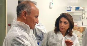 Mondher Mahjoubi, le président d'Innate aux côtés de Martine Vassal (Crédit DR)