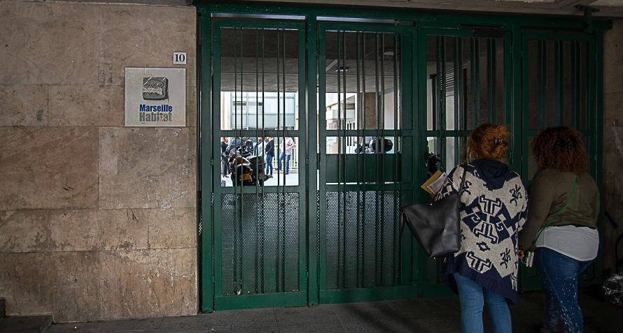 Les locaux du bailleur social Marseille habitat ont été perquisitionnés. Photo TedAlter