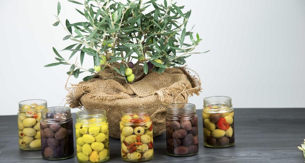 Olives, tartinables et antipastis ont été présentés au SIAL © Provence Corner