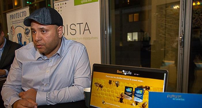 Naoufel Dridi veut protéger les abeilles avec sa ruche connectée