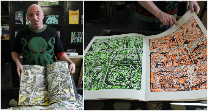 Livres ou tableaux ? À chacun sa réponse. (©Dominique Villanueva)