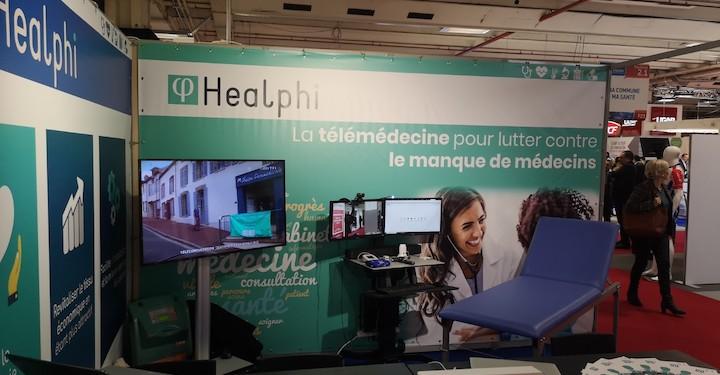 Avec du logiciel et des instruments connectés, le patient se fait ausculter par un infirmier en liaison direct avec le médecin qui fait le diagnostic
