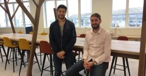 Tarik Mouamenia et Jean Sebastien Gras, les deux fondateurs de Healphi, dans leurs nouveaux locaux chez Obratori