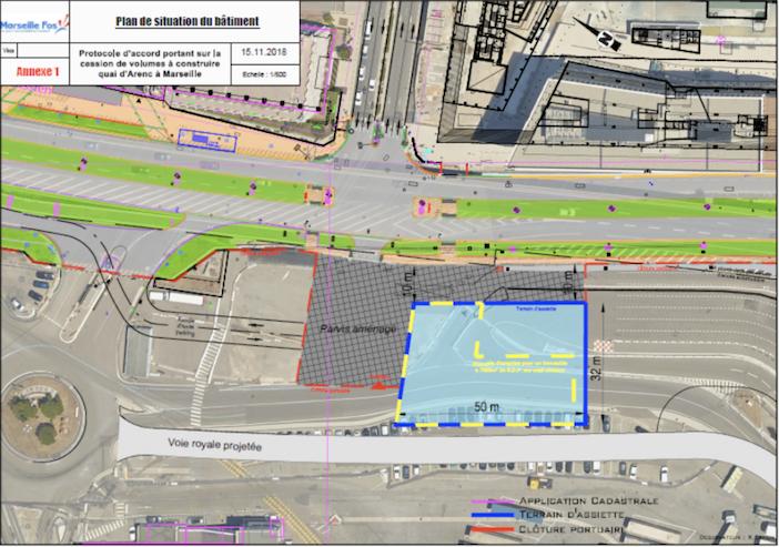 Le nouvel immeuble participera à l'ouverture du domaine portuaire sur la ville