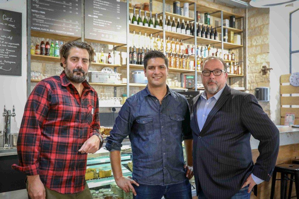 Jérémy Depieds, Patrick Serrano et Cyril Vrain. Photo : Christian Bizzari.