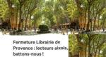Une pétition circule sur les réseaux sociaux pour sauver la Librairie de Provence.