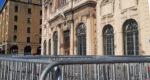 L'hôtel de ville de Marseille entouré de barrière de sécurité samedi 8 décembre (Crédit DR)