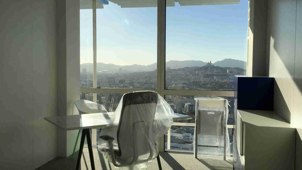 Le prix du loyer d'un bureau est fixé en fonction de son volume et de la vue. Photo N.K.
