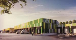 Le MIN aura dès cet été un nouveau pôle logistique de 5 000 m2 dédié à la livraison urbaine de produits frais (Crédit Somimar)