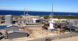 La raffinerie Ecoslops à Sines au Portugal (Crédit Ecoslops)