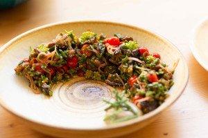 Ginkgo propose une cuisine organique et végétale ©Ginkgo