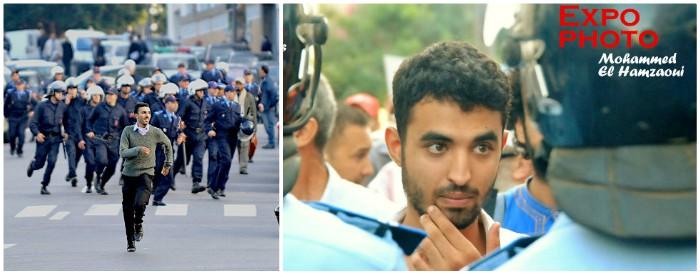 Retour en images sur le Mouvement du 20 février au Maroc © Mohammed El Hamzaoui