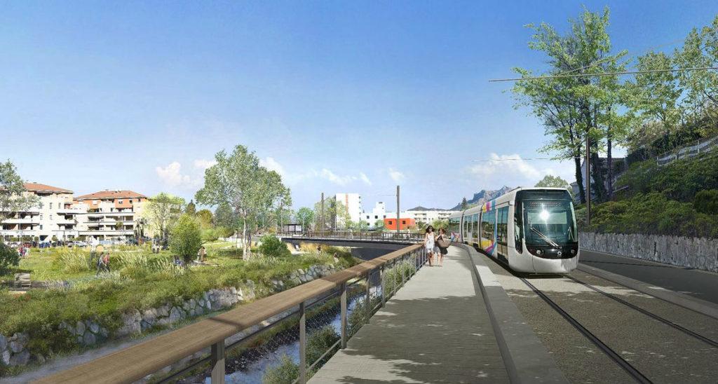 Le projet du Val'Tram est réinscrit à l'agenda de la mobilité métropolitaine.