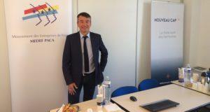 Jean-Luc Monteil, président du Medef Paca et du think tank Nouveau Cap