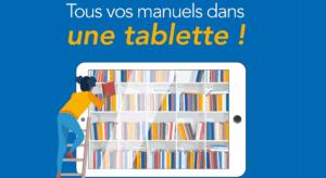 Le déploiement des manuels numériques débutera à la rentrée de septembre 2019 dans les lycées de Provence-Alpes-Côte d'Azur (Crédit : Région Sud)