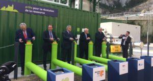 La nouvelle unité de production de biométhane de Sormiou a été inaugurée ce mardi 2 avril (Photo RM)