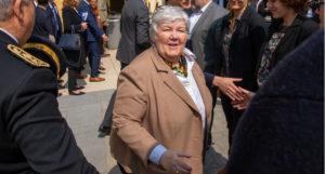 Avant d'aller dans le Vaucluse, Jacqueline Gourault était à Marseille avec le Premier ministre Edouard Philippe. (Photo JYD)