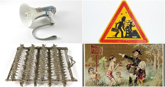 Quelques pièces sélectionnées par les collégiens pour illustrer leur vision de l'interdit (crédit ©Mucem)