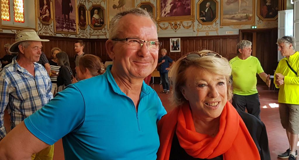Jean-Yves Petit et Maryse Joissains-Masini (Photo ML)