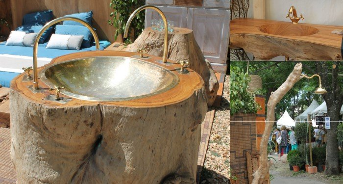 Bois brut et esprit nature chez Atmosphère d'arganeraie (©DV)