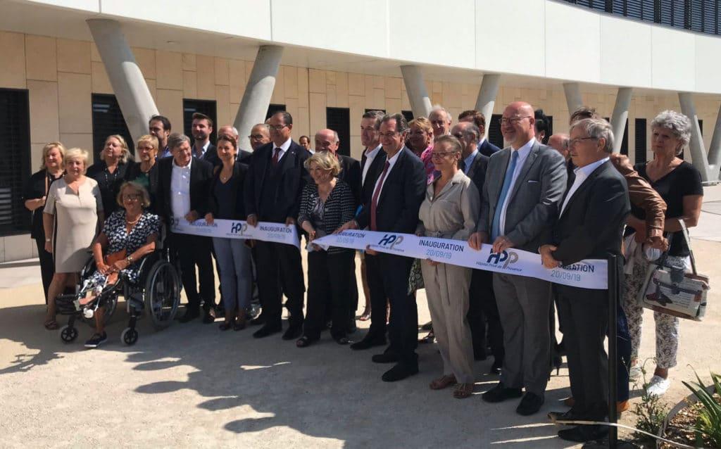 Inauguration de l'Hôpital privé de Provence le 20 septembre 2019 à Aix (Photo @ARSPaca)