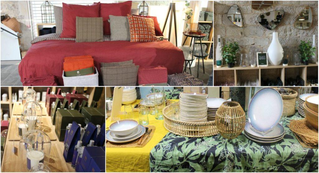 Objets de déco, art de la table, textile... l'éventail est large à souhait (©DV)