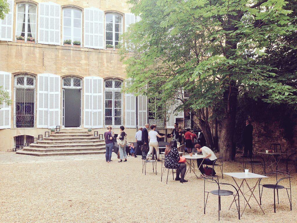 Cour de l'Hôtel particulier du Gallifet (crédit @JulieVndl)