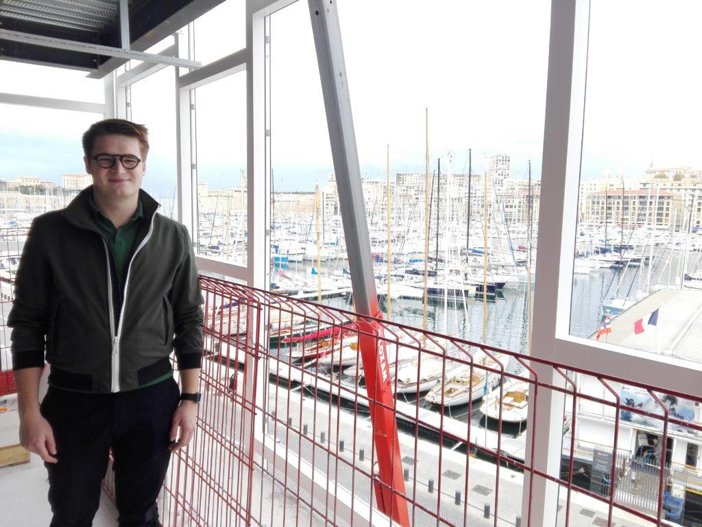 Maxime Givon est le directeur du développement de Now Coworking