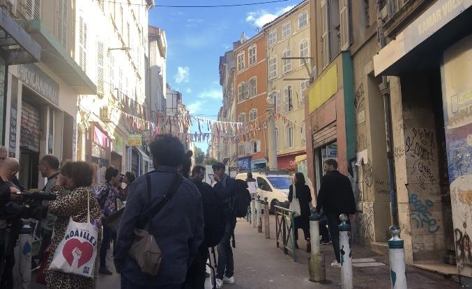 Les habitants de Noailles restent mobilisés un an après la catastrophe de la rue d'Aubagne. (Photo CE).