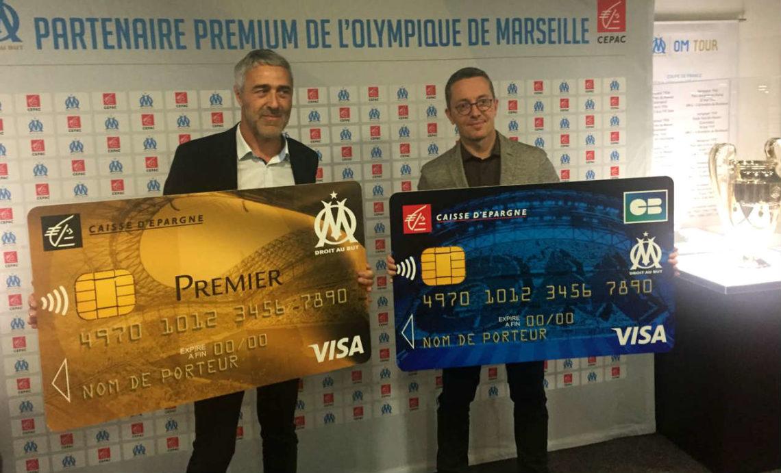 La Caisse D Epargne Cepac Renforce Son Partenariat Avec L Om Gomet