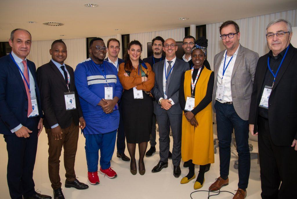 Africalink et le Barreau de Marseille organisaient un atelier qui réunissait des experts et « makers » de Marseille et d'Afrique (Photos Jean-Yves Delattre)