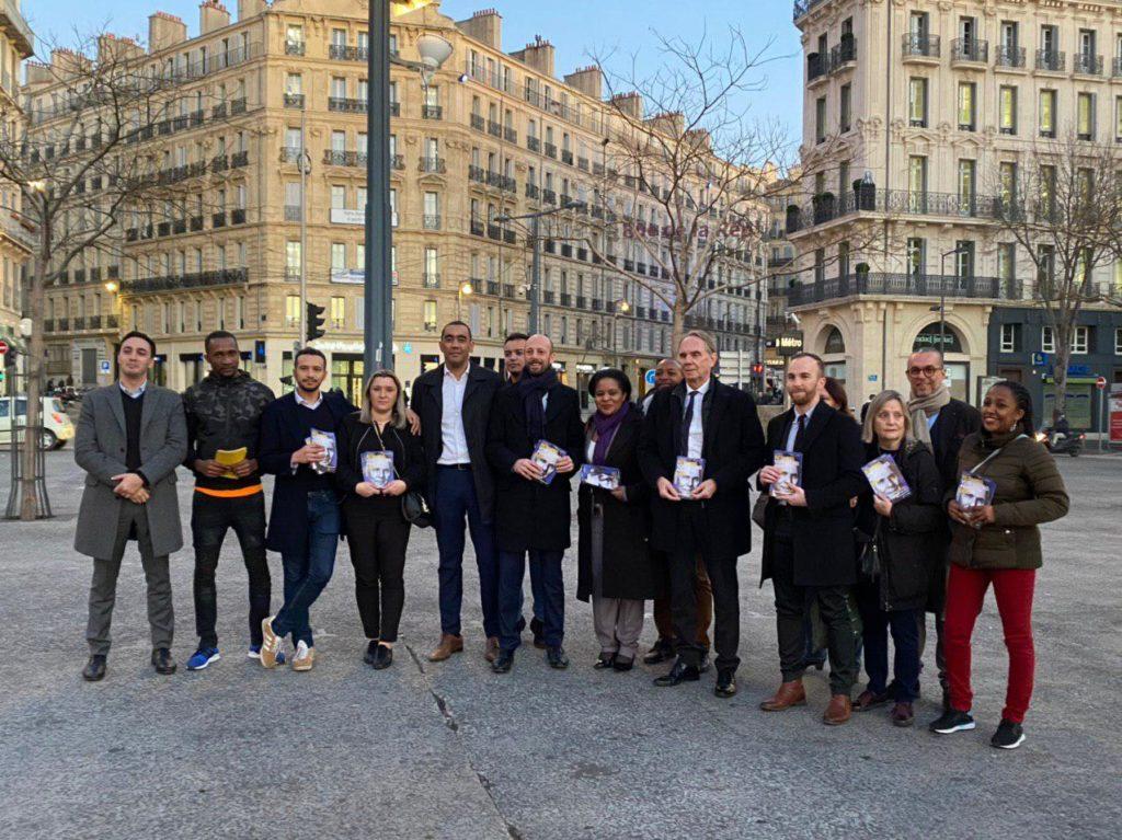 Stanislas Guerini était à Marseille vendredi 31 janvier (crédit : @YvonBerland)