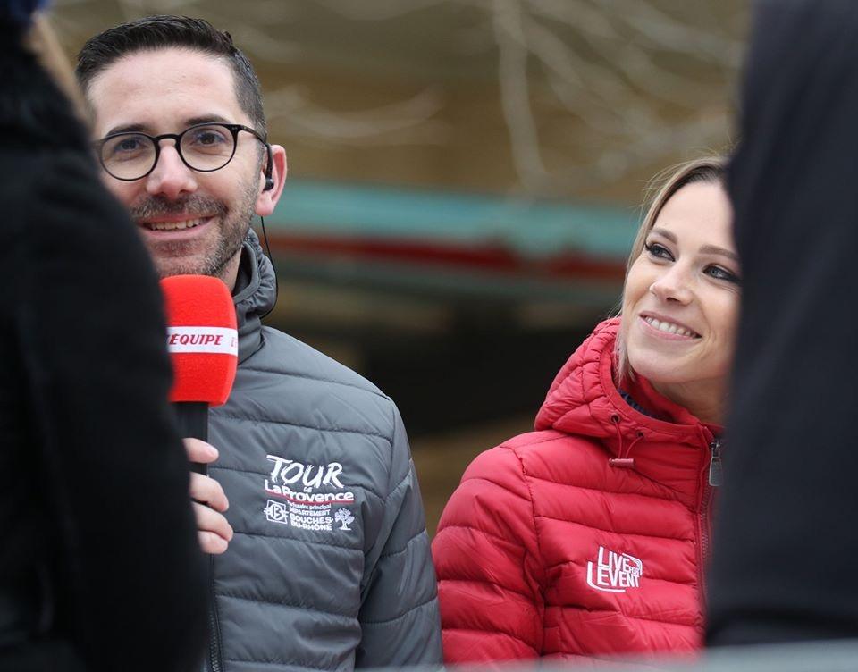 Pierre-Maurice Courtade et Marion Rousse (Crédit PMC)