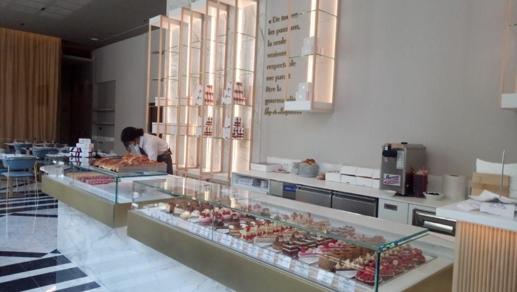 Les pâtisseries du restaurant-brasserie (Crédit Gomet/SB).