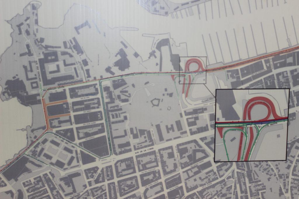 La version 2 du projet de piste cyclable