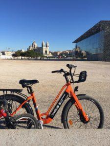 Le Vélo+, le vélo métropolitain à assistance électrique en location longue durée à Aix Marseille Provence (Crédit Gomet').