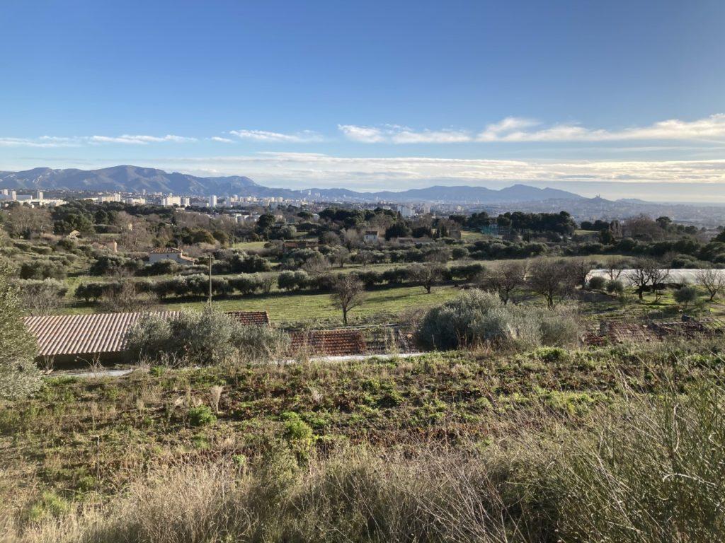 Le potentiel de terre agricole est très important au Nord de Marseille Crédit RM)
