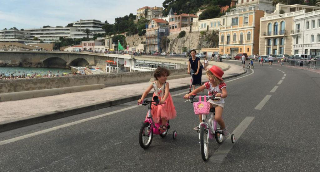 Lors de la Fête du vélo en 2015 (Crédit Gomet'/JFE)