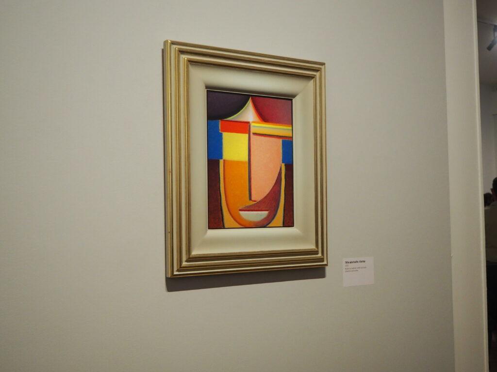 Tête abstraite: Karma (1933) (Crédits: CC/Gomet')